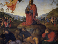 Agony in the Garden by Pietro Perugino: the Uffizi works