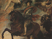 Philip IV of Spain on Horseback