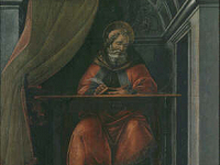 Saint Augustine in his Study