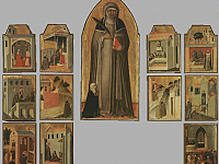Cusps of the Beata Umiltà  Altarpiece