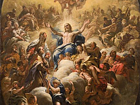 A painting by Luca Giordano is now arriving at the Uffizi