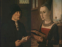 Portraits of Pierantonio Baroncelli and Maria Bonciani