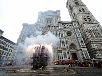 Easter in Florence: the Scoppio del Carro (Explosion of the Cart)