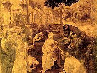 The Adoration of the Magi by Leonardo back to the Uffizi!
