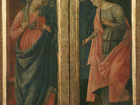 Annunciation Saint John Anthony Abbot and Saint John the Baptist