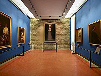 Let\'s discover the New Uffizi: the Blue rooms, dedicated to foreign painters from 16th to 18th century