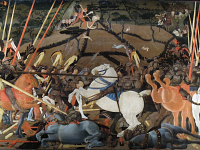 The Battle of San Romano by Paolo Uccello: a masterpiece of perspective shared by three great European museums