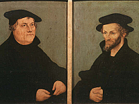 Martin Luther and Philipp Melanchthon