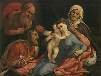 Holy Family with Saints Jerome, Ann and Joachin