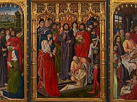 The restoration of the Resurrection of Lazarus by Nicholas Froment: the painting is back to the Uffizi!
