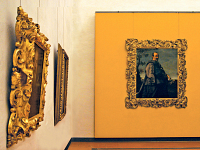 The New Uffizi: the yellow rooms, dedicated to the 17th century and to Baroque painting