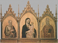 Madonna and Child with Saints Matthew and Nicholas