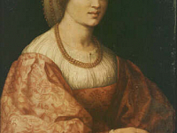 Portrait of a Woman with Splindes