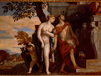 Venus and Mercury present Anteros to Giove