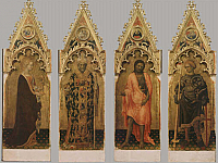 Four Saints from the Quaratesi Polyptych
