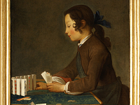 Chardin, the French painting at the Uffizi