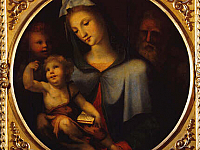 Holy Family with the young Saint Jhon