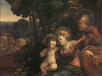Rest during the Flight into Egypt