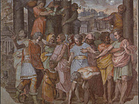 Tarquinius Superbus Founds the Temple of Jove on the Capitol