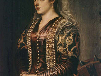 Portrait of Caterina Coronaro as Saint Catherine of Alexandria
