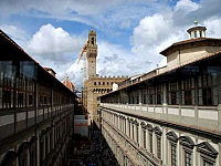 «Uscio e bottega», a new initiative for Florentine schools, which connects Palazzo Vecchio and the Uffizi Gallery.