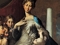 Discovering the Uffizi Gallery: room 74, dedicated to Parmigianino