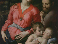 Holy Family with the young Saint John
