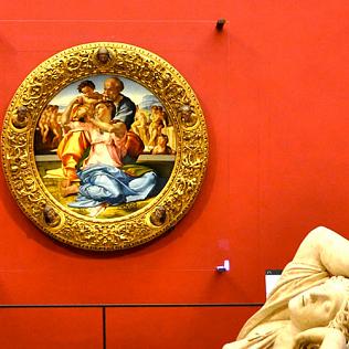 En 2013 La Nouvelle Salle De Michel Ange Et Des Florentins A T Inaugure Au Deuxime Tage Galerie Ralisation Cette Marque Une