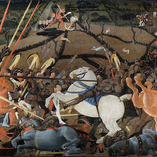Uccello Battle of San Romano Uffizi