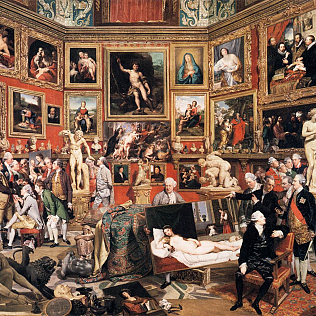 Johann Zoffany   The Tribuna of the Uffizi   WGA26000