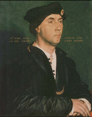 Sir Richard Southwell - Hans Holbein the Younger (Oil on wood, 47.5x38)