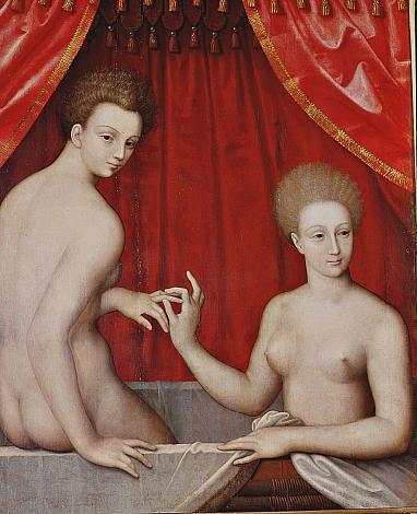Due donne al bagno | Virtual Uffizi Gallery